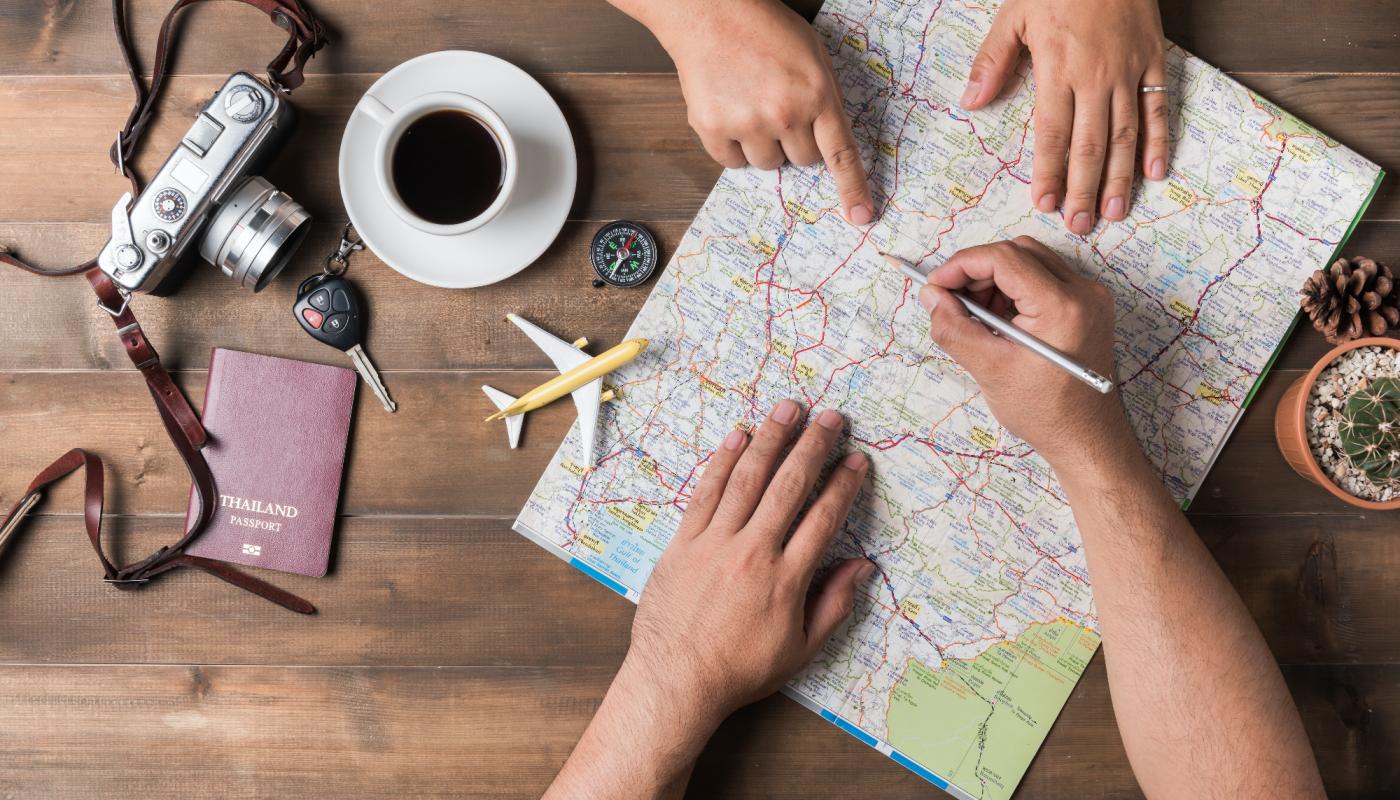 Utazás térképpel - Frissdiplomas.hu